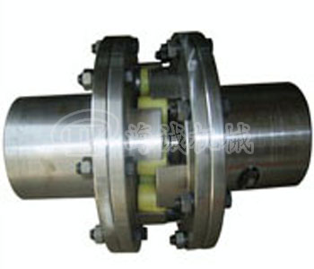 LMS Double flanged jaw coupling